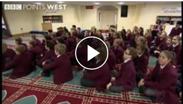 BBC coverage of Mosque Visit